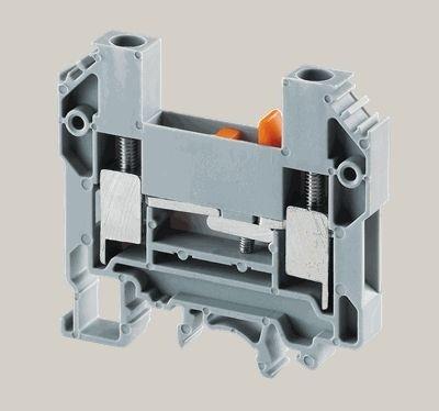 Prüftrennklemme Schraubanschluß Gleitbügeltrennung 1,5-6mm² 800V 41A