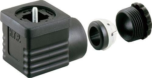 Ventilstecker Bauform A (18mm) Höhe 25mm 2+PE PG9/11