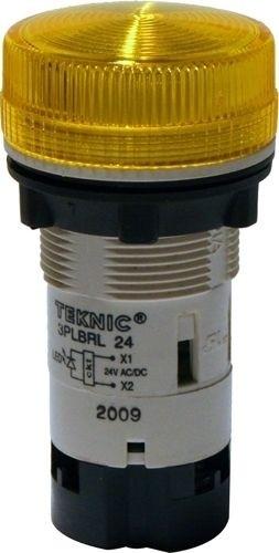 Meldeleuchte Monoblock mit LED 24V Gelb