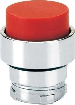 Drucktaster Metall vorstehend Rot