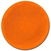 Rückstrahler 60mm orange rund selbstklebend