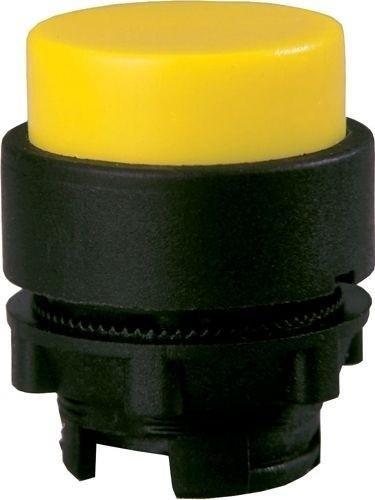Drucktaster Plastik vorstehend Gelb