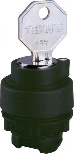 Schlüsselschalter Plastik L*R* 455