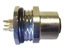 Sensorstecker M12 B-Codierung Buchse Hinterwandmontage PG9 Lötanschluß 4P