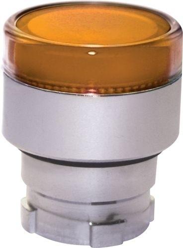 Drucktaster beleuchtet Metall bündig Orange