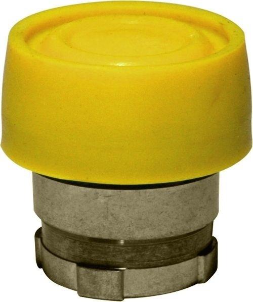 Drucktaster Metall bekappt Gelb