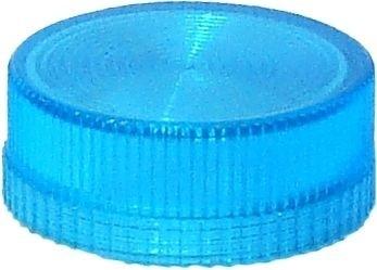 Lampenglas geriffelt für beleuchteten Drucktaster mit LED Blau