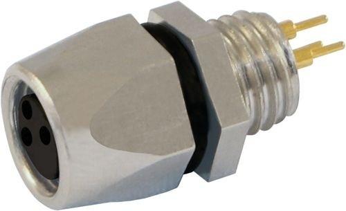Sensorstecker M8 Buchse Vorderwandmontage M8x1 Lötanschluß 3P