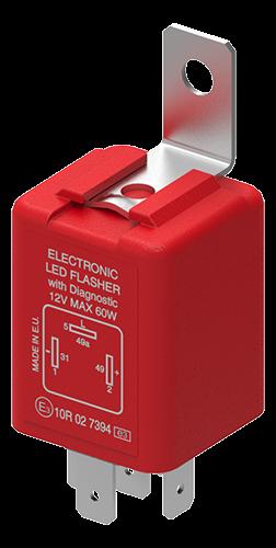 Blinkrelais LED 24V 0-40W 3P